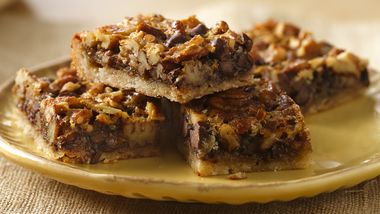 Chocolate Pecan Pie Bars