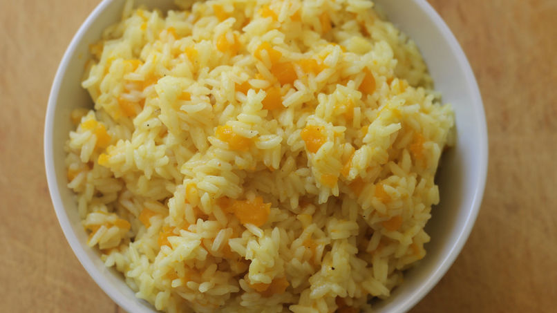 Rice with Pumpkin