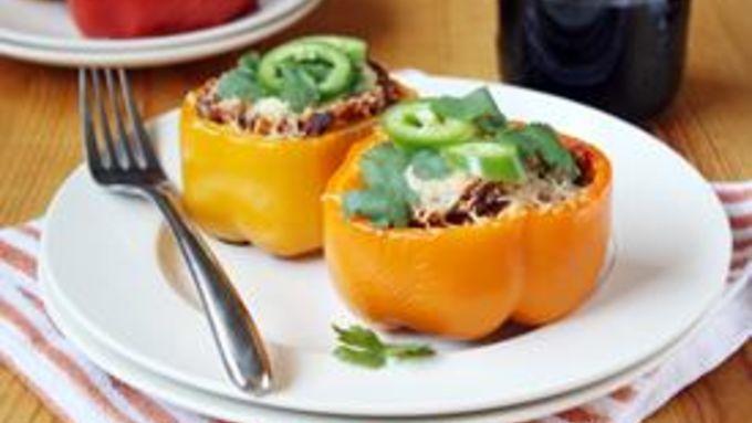 Chorizo-Stuffed Bell Peppers