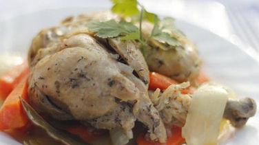 Pollo en Cuñete
