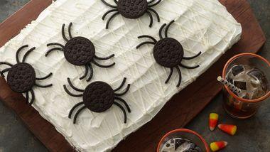 Spider Web Cake