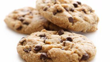 Skinny Chocolate Chip Cookies