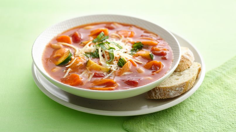 Fresh Vegetable Minestrone