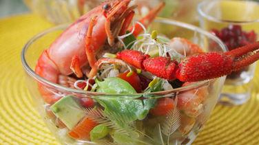 Barley and Shrimp Salad