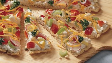 Tuna Appetizer Pizza