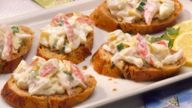 Artichoke-Crab Spread