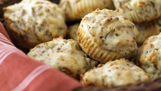 Skinny Herb-Bran Muffins