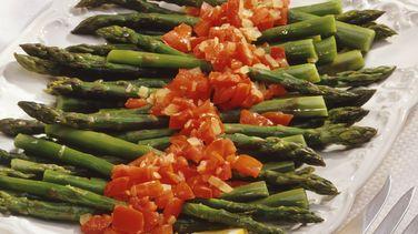 Asparagus with Pesto Arrabiata