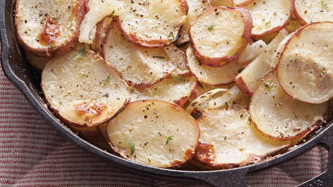 Crispy Potatoes with Fennel