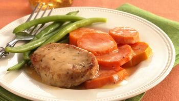 Orange Pork and Sweet Potatoes