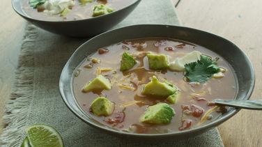 Hearty Tortilla Soup
