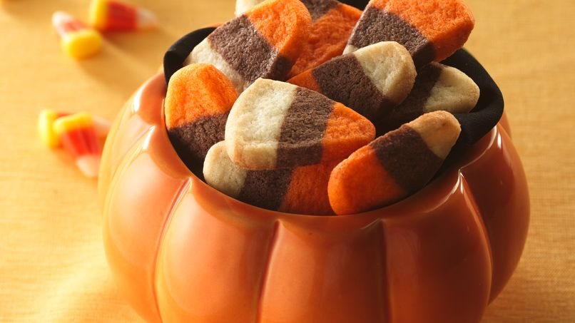 "Galletas ""Candy Corn"""