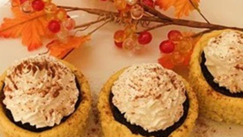 Pumpkin Oreos™ Cheesecake