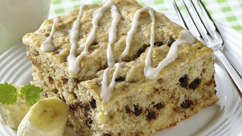 Banana-Chocolate Chip Coffee Cake