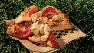 Grilled Chicken Pizza Mexicana
