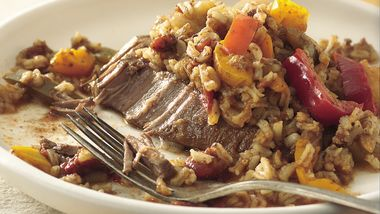 Slow-Cooker Tex-Mex Steak and Rice