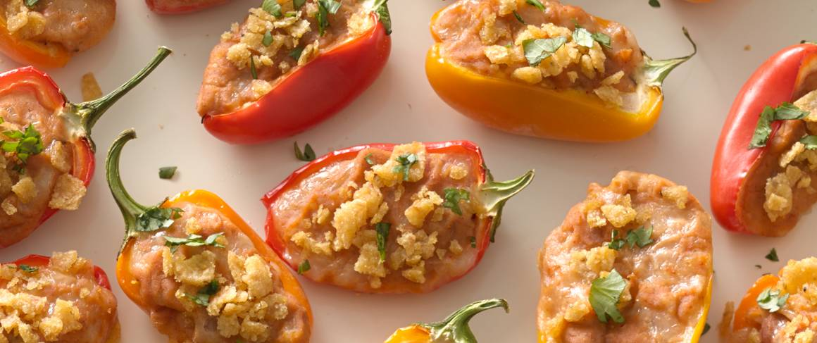 how to cook sweet mini peppers