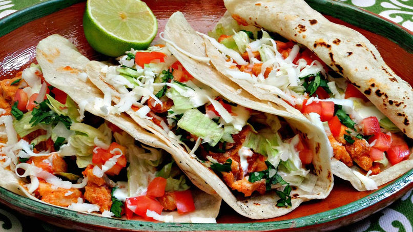 Tacos de Pollo al Chipotle