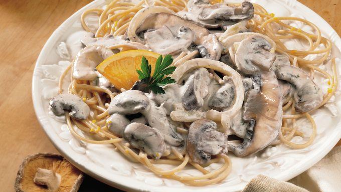 Creamy Mushroom Stroganoff recipe - from Tablespoon!