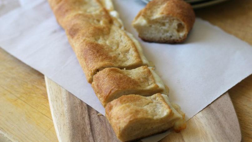 Pan Relleno de Queso y Ajo