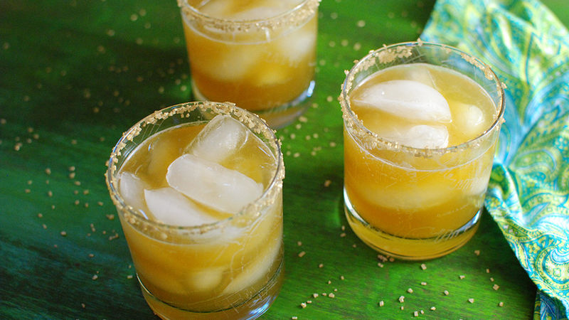 Bourbon Gold Rush Cocktail