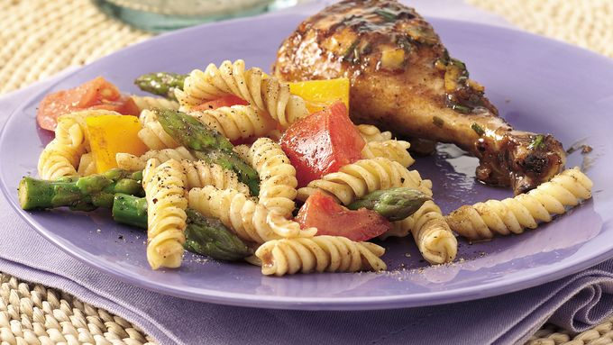 Asparagus and Tomato Pasta Salad