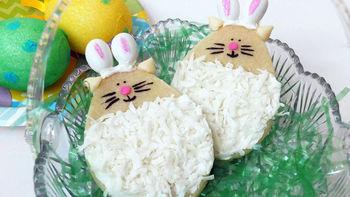 Easter Cat Cookies