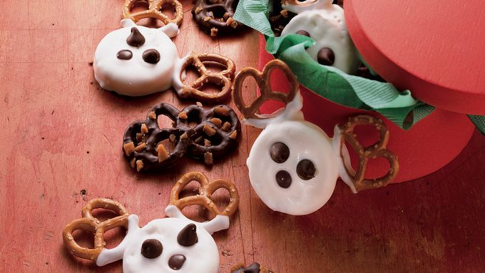 Chocolate Toffee Pretzels