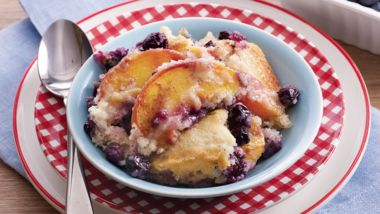 Grilled Summer Cobbler
