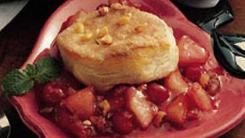 Quick Cranberry Apple Dessert