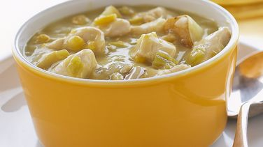 Slow-Cooker Chile Chicken Chowder