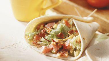 Burrito BLT Wraps