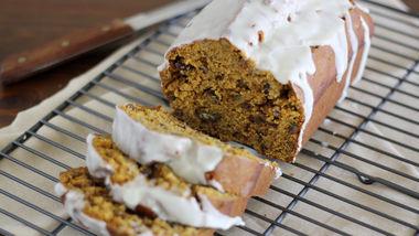 Pumpkin Pecan Cookie Butter Bread