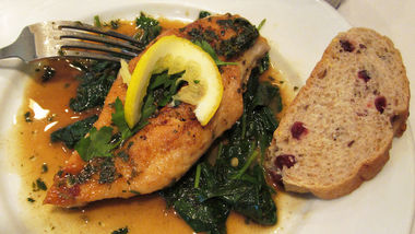 Speedy Lemon-Herb Chicken Breasts