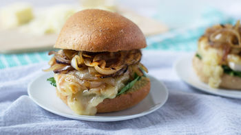 Cheesy French Onion Chicken Sandwiches