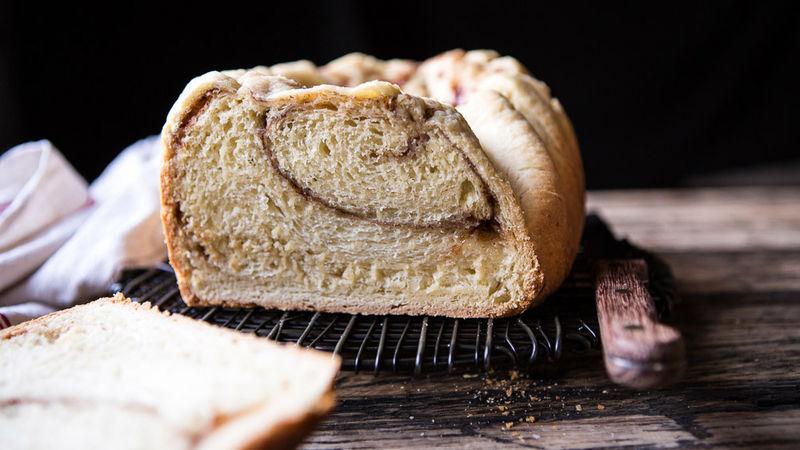 Cinnamon Brioche Bread