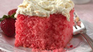 Strawberry Tropics Cake