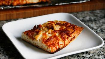 Clams Casino Pizza Pie
