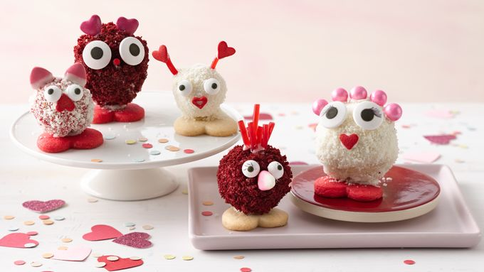 Love Bug Cake Balls
