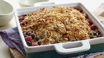 Summer's Best Berry Crisp
