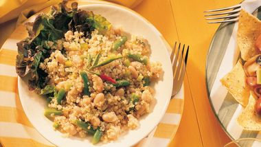 Quinoa and Two Bean Salad