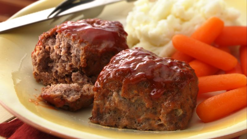 30-Minute Mini Meatloaves recipe - from Tablespoon!