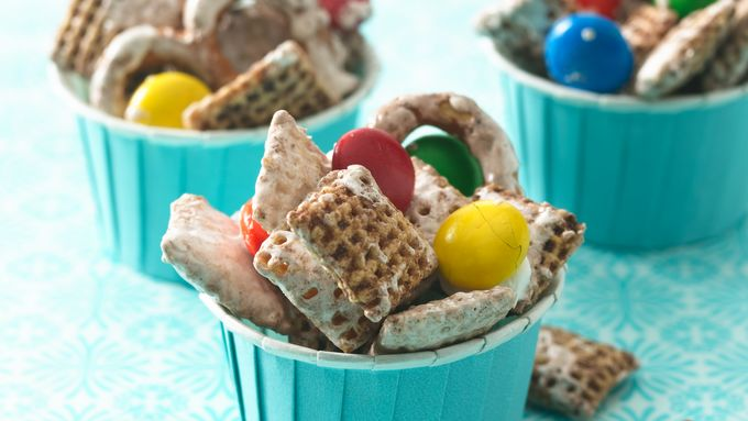 Chocolate Chex® Marshmallow Clusters
