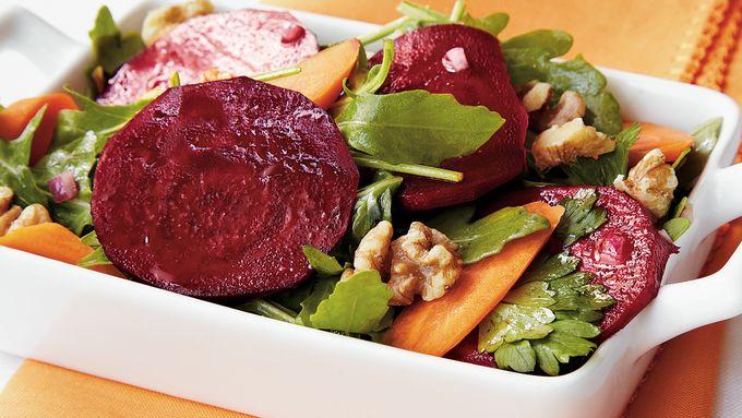 Crunchy Carrot-Beet Salad