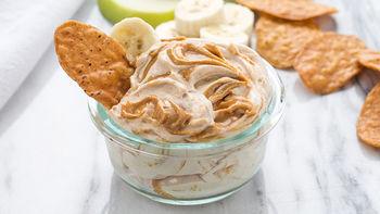Cinnamon Almond Butter Swirl Dip