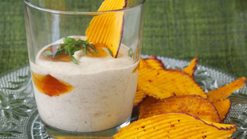 Spiced Yogurt Dip