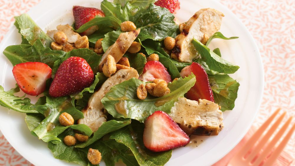 Grilled Balsamic-Chicken Salad