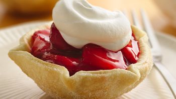 Fresh Strawberry Tarts