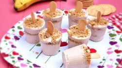 Banana Cream Pie Popsicles