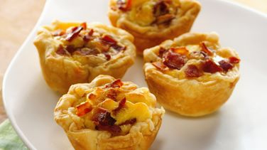 Mini Bacon-Cheese Cups